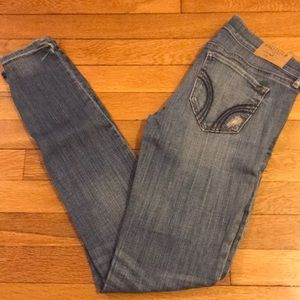Distressed Hollister Skinny Jeans